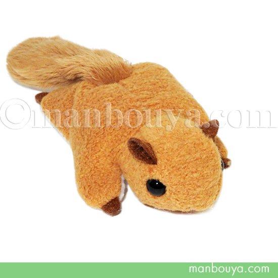 モモンガ ぬいぐるみ 動物 A-SHOW ミニビーンズ ももんが ブラウン 12cm
