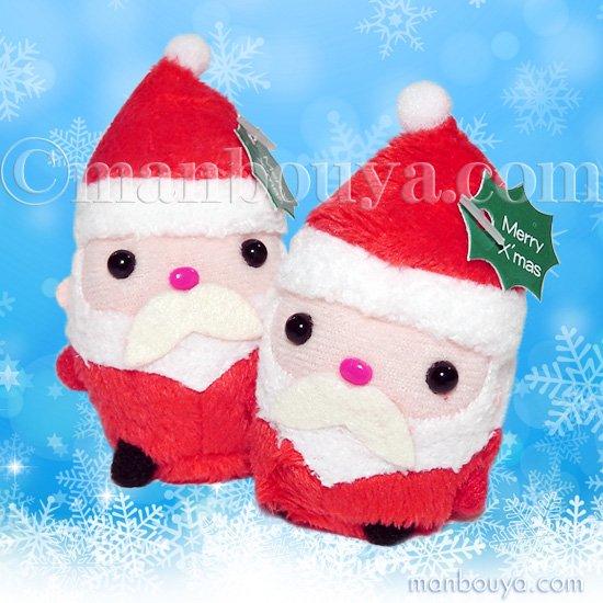 クリスマス サンタクロース ぬいぐるみ おもしろ雑貨 A-SHOW ムニュマム お手玉 サンタ 6cm