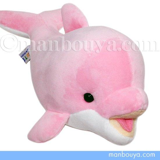 イルカ ぬいぐるみ キュート販売 CUTE marine collection もちもち ドルフィン Sサイズ ピンク 30cm
