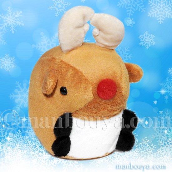 クリスマス ぬいぐるみ トナカイ A-SHOW ムニュマム Mサイズ トナカイ 10cm