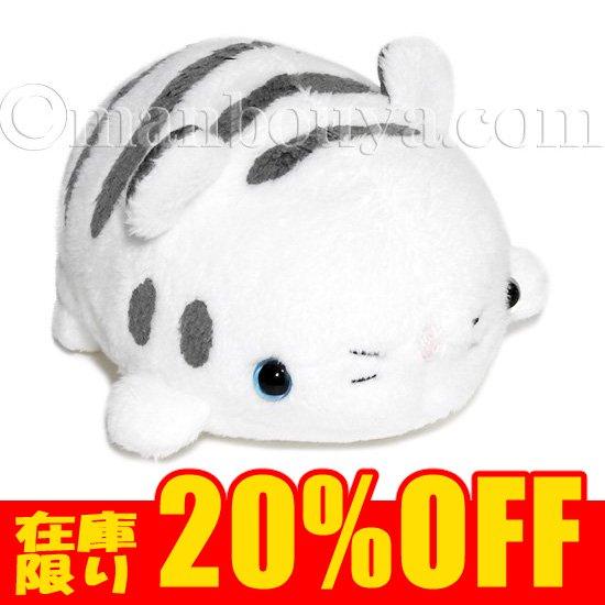 動物園 トラのぬいぐるみ A-SHOW 栄商 ムニュマム Mサイズ ホワイトタイガー 11cm