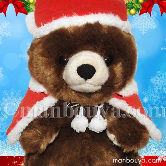 5%OFF くまのぬいぐるみ クリスマス キュート販売 CUTE forest angel 森のくまさん M 30cm サンタ衣装