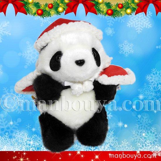 5%OFF パンダ ぬいぐるみ クリスマス 小さい 赤ちゃん CUTE キュート販売 お座りパンダSS 13cm サンタ衣装