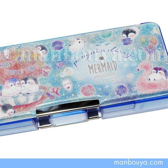 カミオジャパン 筆箱 小学校 女の子 ペンギン PENGUIN DIARY 両面開き ペンケース