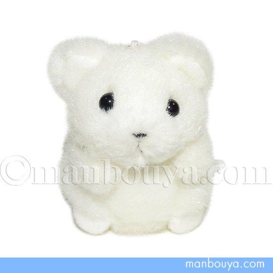シロクマ ぬいぐるみ キーホルダー たけのこ TAKENOKO ミニミニキッズ くま 白 6cm