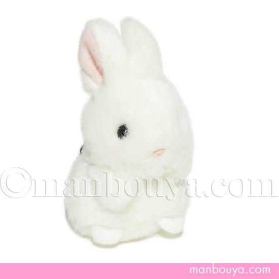 うさぎ ぬいぐるみ キーホルダー たけのこ TAKENOKO ミニミニキッズ ウサギ ホワイト 7cm