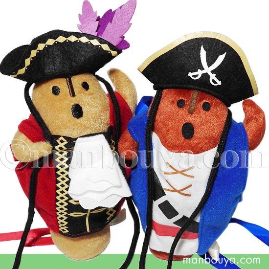 海賊 コスプレ ぬいぐるみ ハニワ A-SHOW 埴輪 ヒト型 17cm 2色セット 海賊なりきり隊