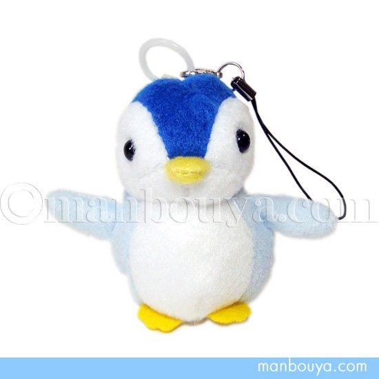 ペンギンのぬいぐるみ 水族館 グッズ ぶるぶる振動機能付きストラップ AQUA ペンギン 7cm
