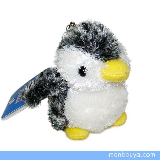 【ペンギンのぬいぐるみストラップ】携帯クリーナー付き◆オーロラ・アクアキッズ◆ペンギン◆8cm