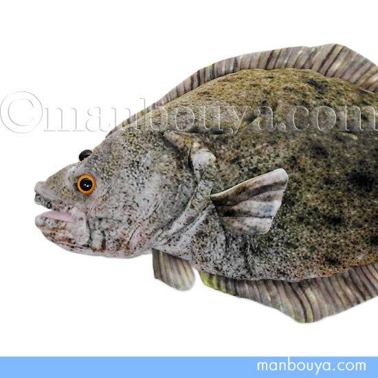 魚 ヒラメ ぬいぐるみ TST太洋産業貿易 さかなクン おさかなぬいぐるみ 鮃 47cm