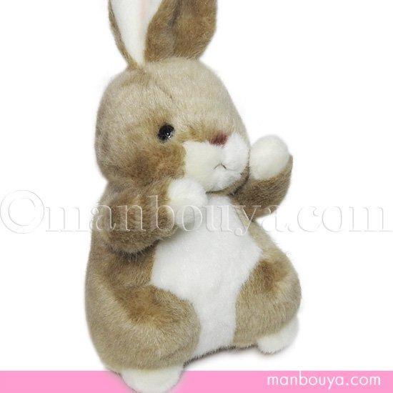うさぎ ぬいぐるみ 動物園 たけのこ TAKENOKO 森のなかま S ウサギ ベージュ 20cm