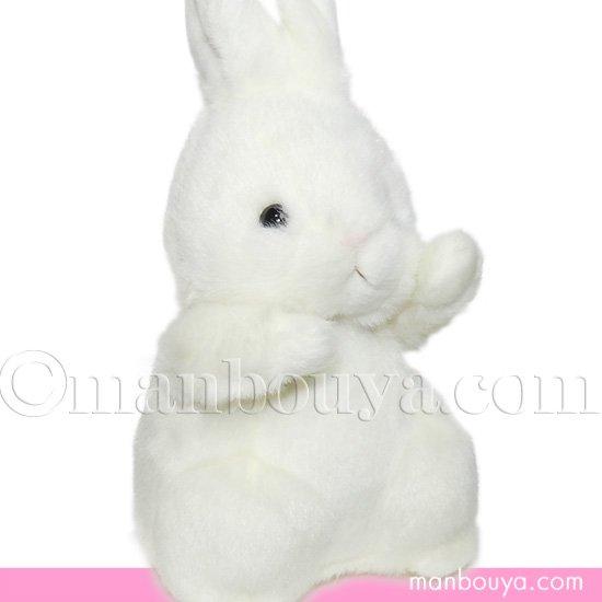 うさぎ ぬいぐるみ 動物園 たけのこ TAKENOKO 森のなかま S ウサギ ホワイト 20cm