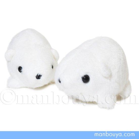 シロクマ ぬいぐるみ 水族館グッズ A-SHOW ムニュマムお手玉 白くま 5cm