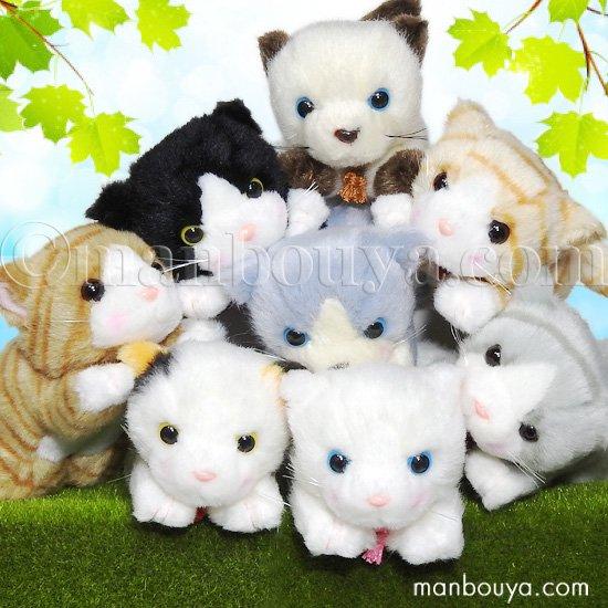 【10%OFF】ぬいぐるみ 猫 たけのこ TAKENOKO シェリー這い ネコ 8種セット
