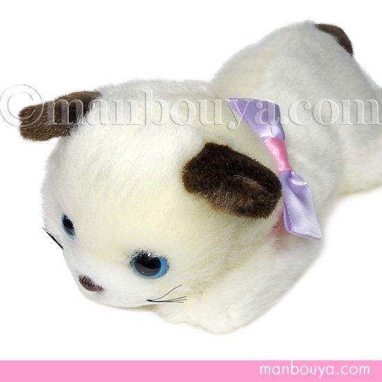 猫 ぬいぐるみ たけのこ TAKENOKO リボンネコ シャム 30cm