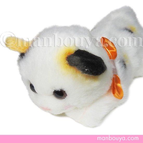 猫 ぬいぐるみ たけのこ TAKENOKO リボンネコ 三毛ねこ 30cm