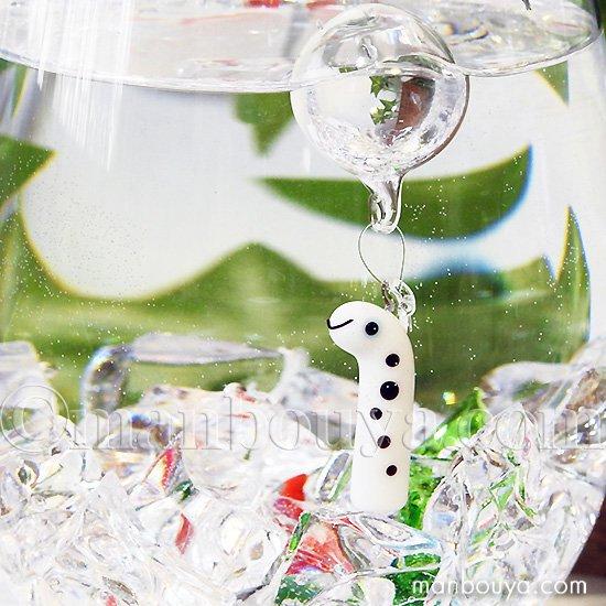 チンアナゴ グッズ インテリア 雑貨 フロート 浮き玉 ガラス細工 海の生き物 浮き球 ちんあなご