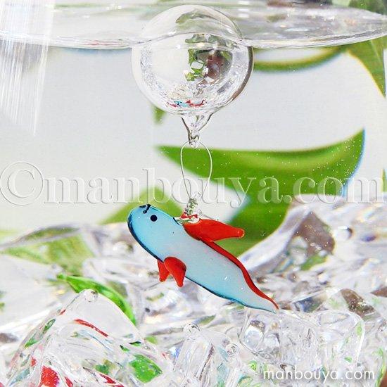 深海魚 グッズ インテリア 雑貨 フロート 浮き玉 ガラス細工 浮き球 リュウグウノツカイ