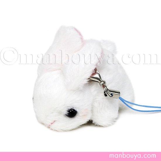 うさぎ ぬいぐるみ スマホ 携帯 液晶クリーナー ストラップ マスコット キュート販売 CUTE ウサギ 5cm