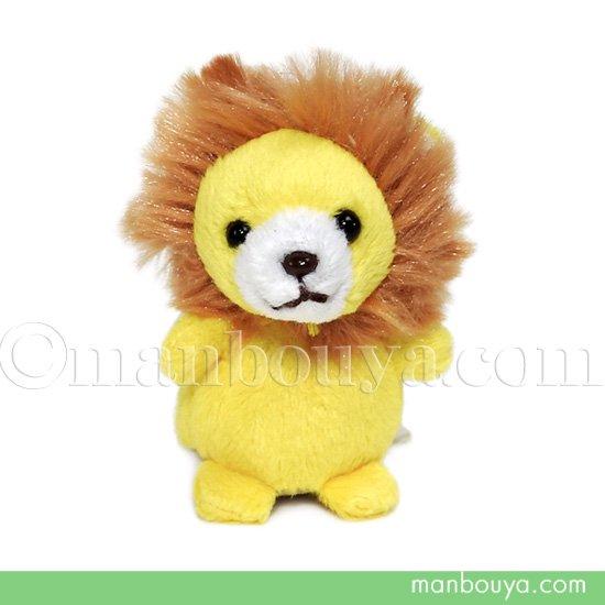 ライオン ぬいぐるみ 動物 スマホ 携帯 液晶クリーナー ストラップ マスコット  キュート販売 CUTE らいおん 5.5cm
