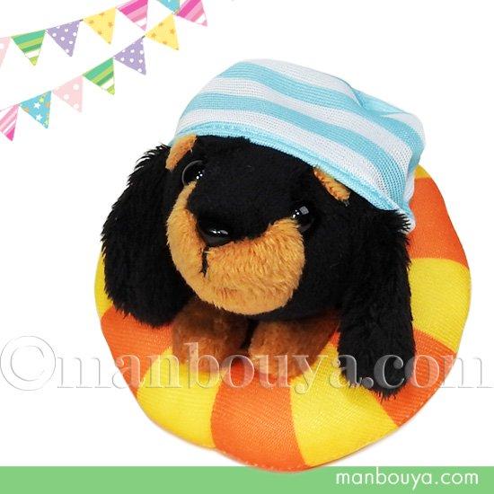 犬 ぬいぐるみ 服 セット 着せ替え みんなでスポーツ A-SHOW リトルビーンズ ダックスフント 水泳練習中 11cm