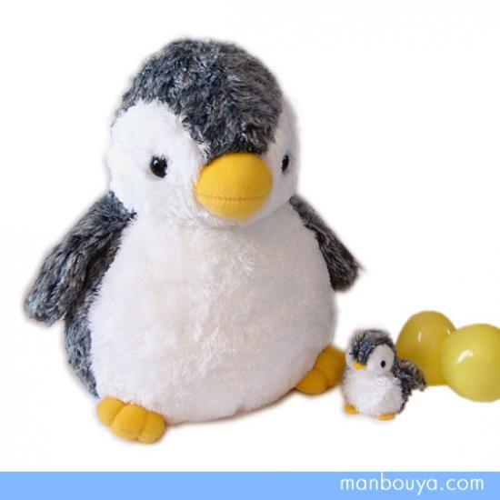 【ペンギンのぬいぐるみ】AURORA◆オーロラ・アクアキッズ◆親子ペンギン28cm