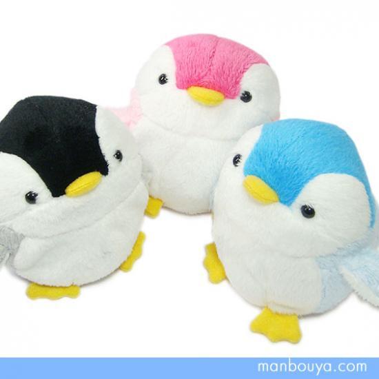 【ペンギンのぬいぐるみ】お手玉サイズ◆AQUAマリンシリーズ◆ベビーペンギン3色