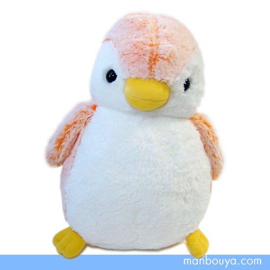【ペンギンのぬいぐるみ】AURORA(オーロラ)パウダーキッズ◆ペンギンオレンジ(M)30cm