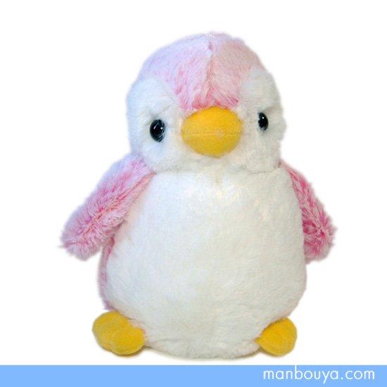 【ペンギンのぬいぐるみ】AURORA(オーロラ)パウダーキッズ◆ペンギンピンク(S)18cm