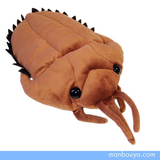 【三葉虫】ぬいぐるみ・グッズ◆古代カンブリア紀の海洋生物◆A-SHOW(栄商)◆三葉虫ブラウン29cm
