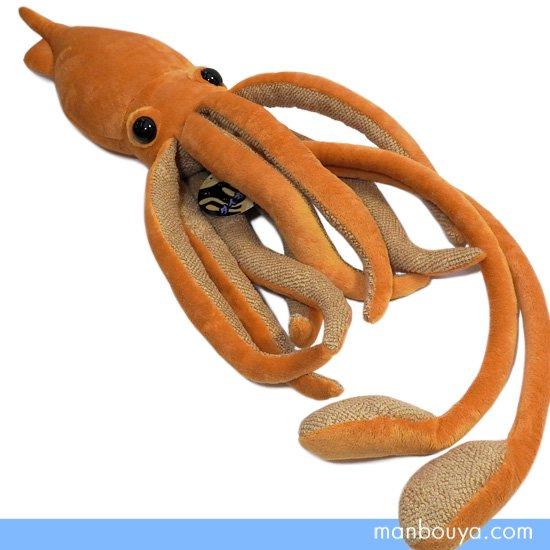 【ダイオウイカのぬいぐるみ】深海生物◆A-SHOW(栄商)◆大王烏賊ブラウン 76cm