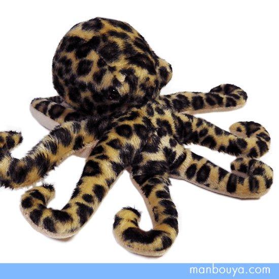 【タコのぬいぐるみ】水族館 グッズ◆A-SHOW(栄商)◆海の動物◆ヒョウモンダコ17.5cm