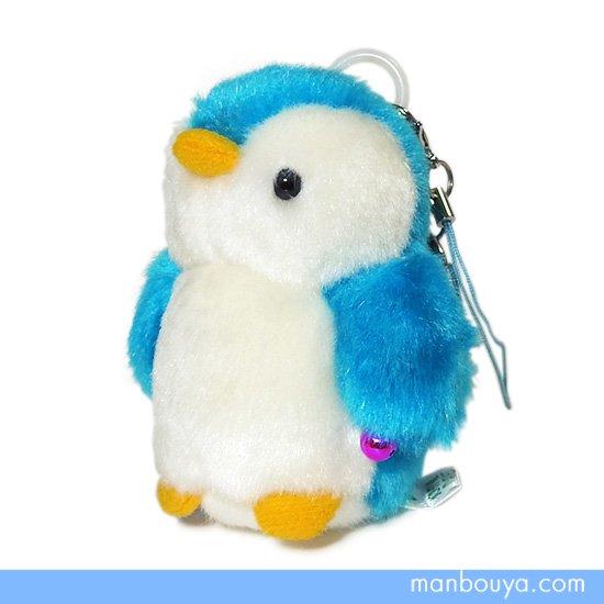 【ペンギングッズ】ぬいぐるみ◆たけのこ(TAKENOKO)◆マリンシリーズ◆ぶるぶるマスコット◆ペンギンブルー8cm