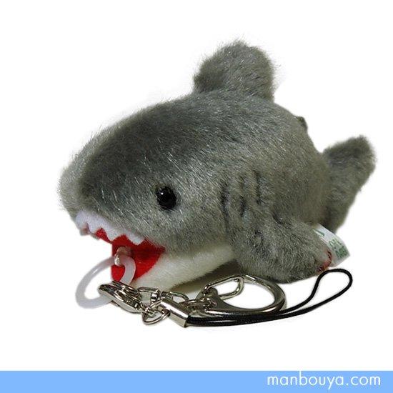 【サメグッズ】ぬいぐるみ◆たけのこ(TAKENOKO)◆マリンシリーズ◆ぶるぶるマスコット◆鮫10cm