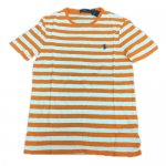 POLO RALPH LAUREN / STRIPED COTTON JERSEY T-SHIRT