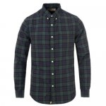 DENIM & SUPPLY RALPH LAUREN / PLAID COTTON OXFORD SHIRT