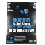 ANARCHY / ROB THE WORLD ポスター