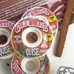 GOLD WHEELS (ゴールド ウィールズ) / WOODS - QUISE - 53MM