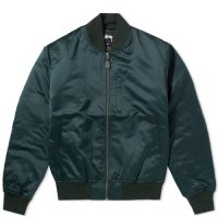 <img class='new_mark_img1' src='//img.shop-pro.jp/img/new/icons51.gif' style='border:none;display:inline;margin:0px;padding:0px;width:auto;' />STUSSY ステューシー / EMORY SATIN BOMBER JACKET