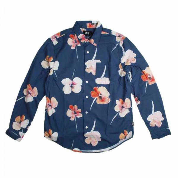 STUSSY ステューシー / WATER COLOR POPPY SHIRT