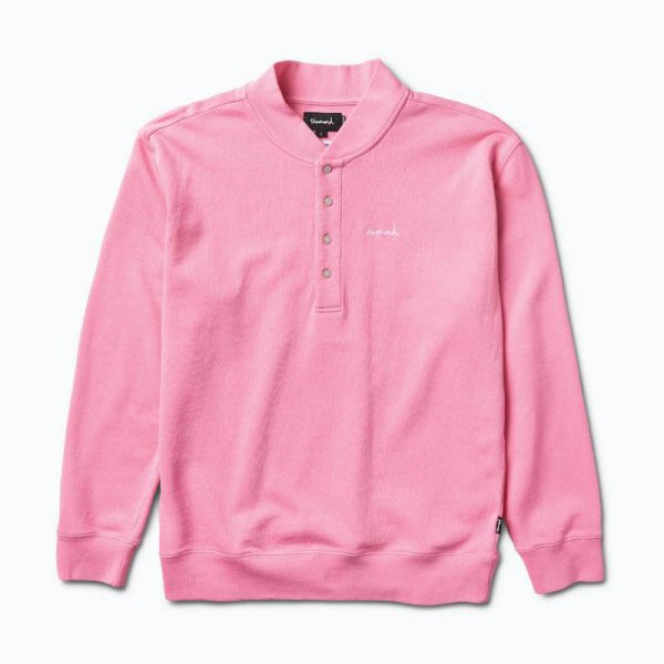 DIAMOND SUPPLY CO. ダイアモンドサプライ / SAWYER FLEECE HENLEY