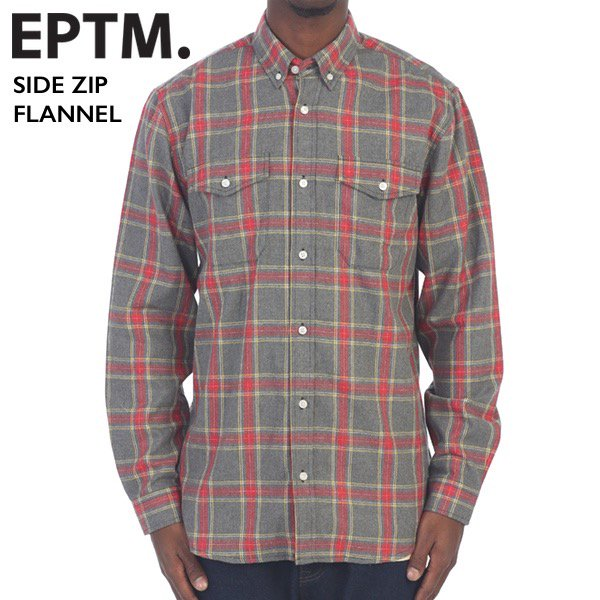 EPTM エピトミ / SIDE ZIP FLANNEL