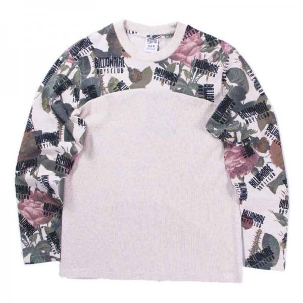 BILLIONAIRE BOYS CLUB / FLORAL PRINT COMBAT SHIRT