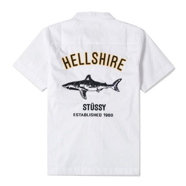 <img class='new_mark_img1' src='//img.shop-pro.jp/img/new/icons51.gif' style='border:none;display:inline;margin:0px;padding:0px;width:auto;' />STUSSY / HELLSHIRE BOWLING SHIRT
