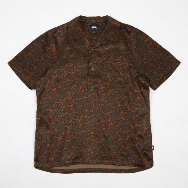 <img class='new_mark_img1' src='//img.shop-pro.jp/img/new/icons14.gif' style='border:none;display:inline;margin:0px;padding:0px;width:auto;' />STUSSY / PAISLEY SHIRT