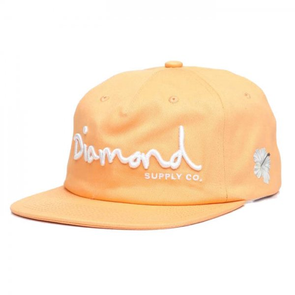 DIAMOND SUPPLY CO. / OG SCRIPT UNSTRUCTURED SNAPBACK