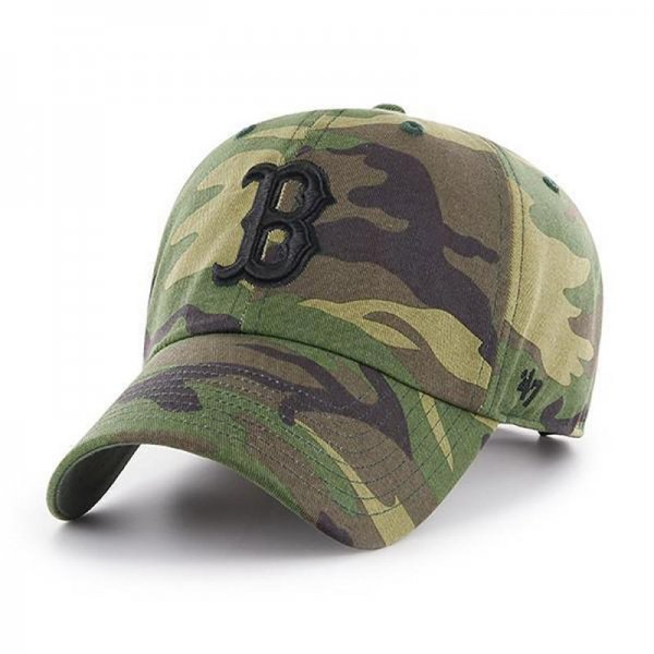 <img class='new_mark_img1' src='//img.shop-pro.jp/img/new/icons14.gif' style='border:none;display:inline;margin:0px;padding:0px;width:auto;' />47 BRAND / RED SOX CAMO UNWASHED '47 CLEAN UP
