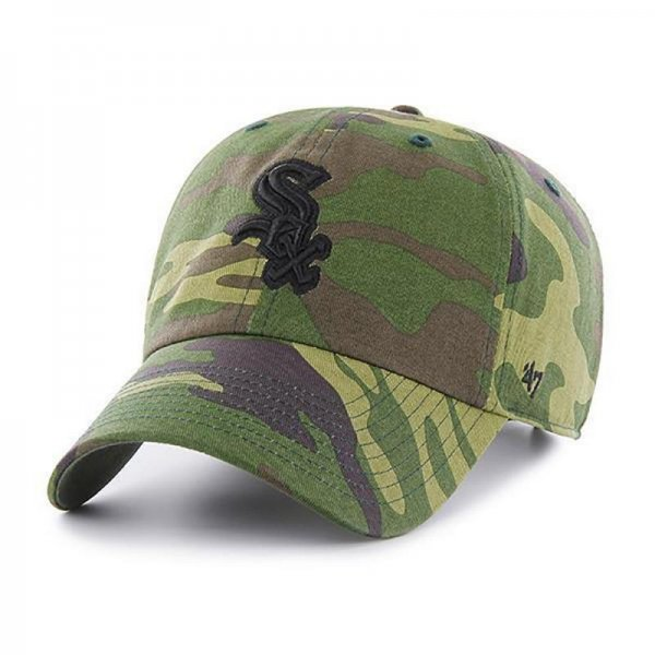 <img class='new_mark_img1' src='//img.shop-pro.jp/img/new/icons14.gif' style='border:none;display:inline;margin:0px;padding:0px;width:auto;' />47 BRAND / WHITE SOX CAMO UNWASHED '47 CLEAN UP