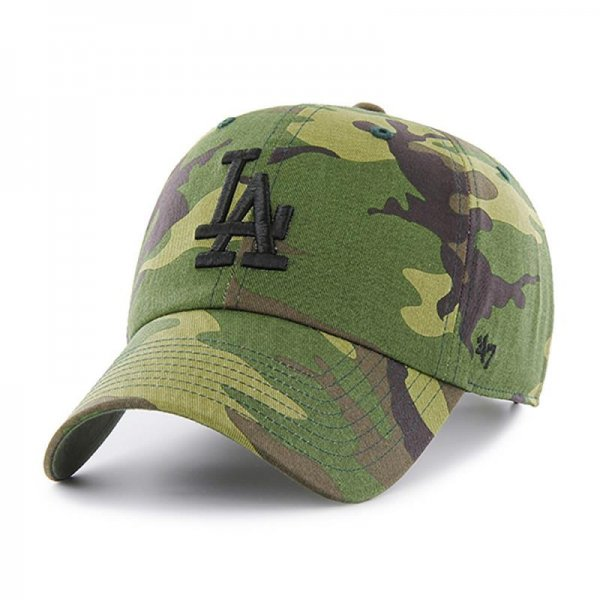 <img class='new_mark_img1' src='//img.shop-pro.jp/img/new/icons14.gif' style='border:none;display:inline;margin:0px;padding:0px;width:auto;' />47 BRAND / DODGERS CAMO UNWASHED '47 CLEAN UP