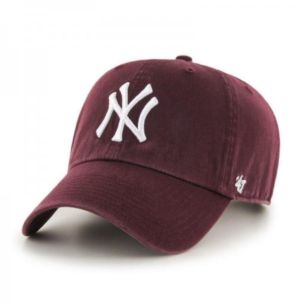 <img class='new_mark_img1' src='//img.shop-pro.jp/img/new/icons9.gif' style='border:none;display:inline;margin:0px;padding:0px;width:auto;' />47 BRAND / YANKEES '47 CLEAN UP DARK MAROON